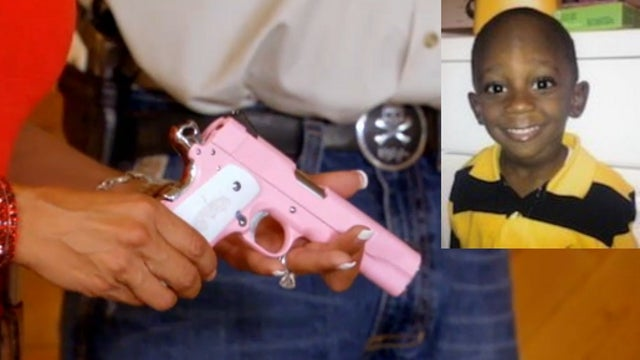 Three-Year-Old Boy Accidentally Shot In The Head While Playing with Pink Gun He Thought Was a Toy