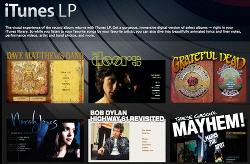 Apple to Indie Labels: iTunes LP Is Out of Your League