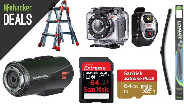 Upgrade Your Wiper Blades, Impulse-Priced Action Cams, SanDisk Storage