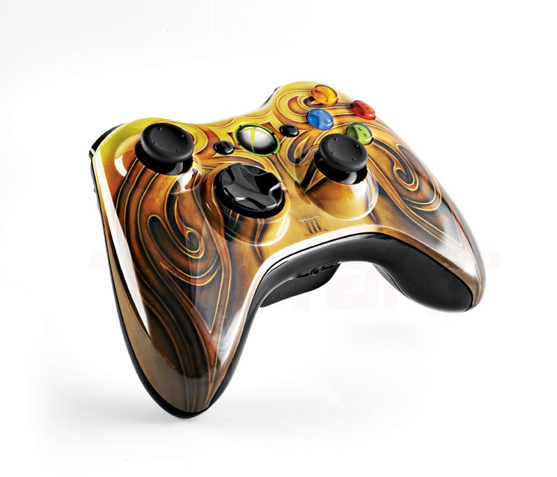 A Limited Edition Fable III Controller Fit For A King