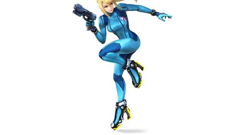 Samus' New High Heels Are, Well...
