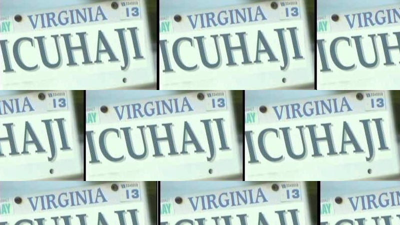 The Virginia DMV Revoked Anti-Arab Vanity Tags