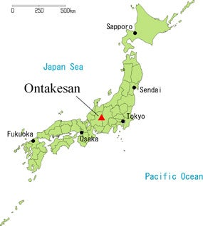 Unexpected Volcanic Eruptions What Can We Learn From Mount Ontake - Japan volcano map