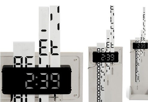 Digimech Clock Does Digital the Old-Fashioned Mechanical Way
