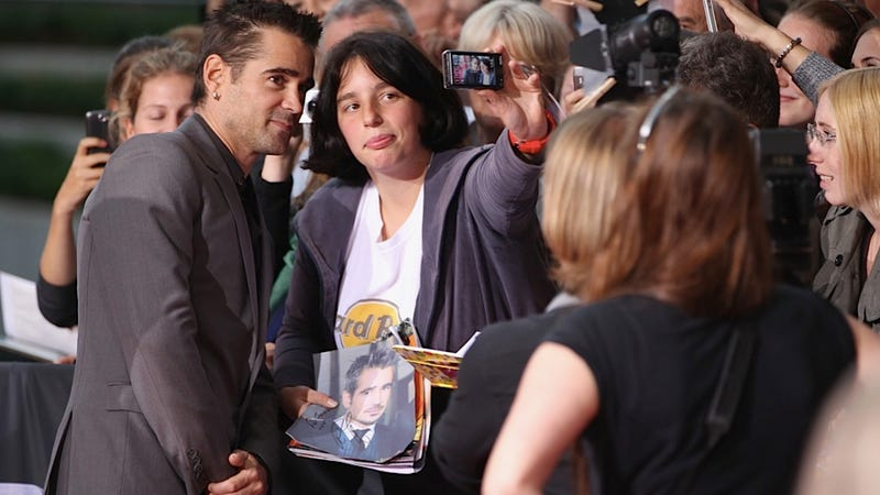 This Fan Seems to Be Hoarding All the Colin Farrell Pictures