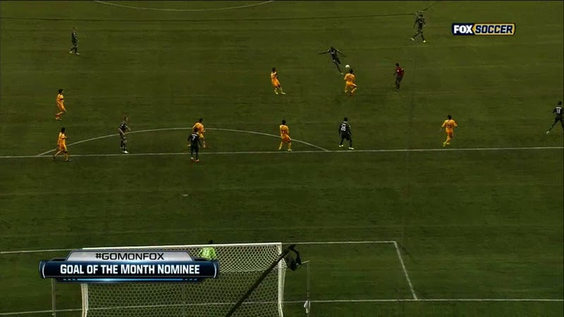 One Of The Best Goals You'll Ever See Came Tonight In The CONCACAF Champions League