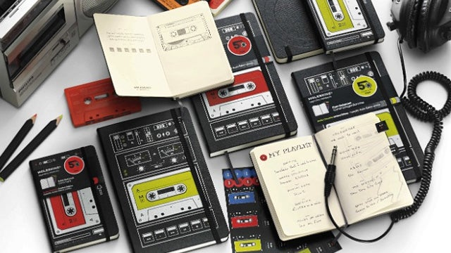 Cassette-Themed Moleskines Are a Lovely Obituary For a Dead Medium