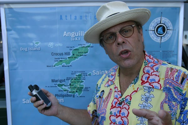 Food Network's Alton Brown Talks to Giz: Caribbean Adventuring With a Garmin, an iPhone and a Shload of Cameras