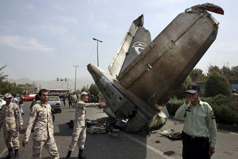 Iranian Passenger Plane Crashes, Killing 39