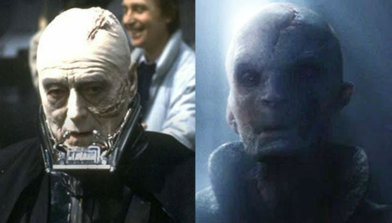 The 13 Most Nonsensical Theories About The Identity of Supreme Leader Snoke