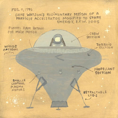 UFOs Crash Into America's Art Galleries