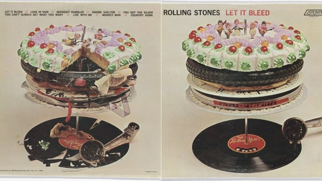 Let it Bleed Album Cover Let it Bleed Album Art Was