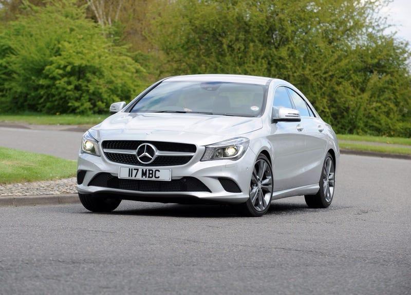 Mercedes-Benz's CLA 'Overwhelming Success'