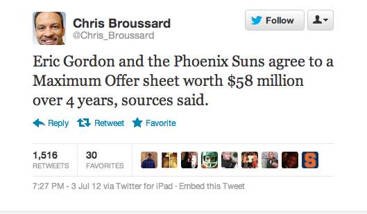 Congratulations, You Are Chris Broussard's Source
