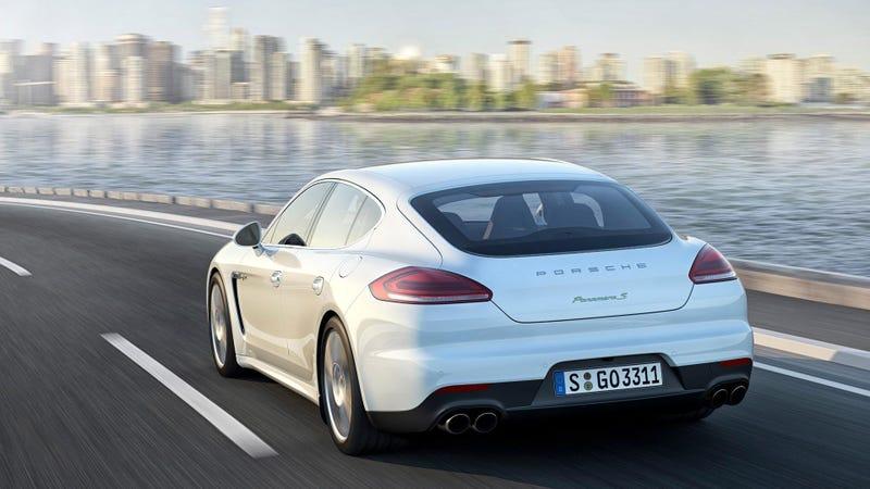 The 2014 Porsche Panamera Gran Turismo Drops The V8 For A Twin-Turbo V6