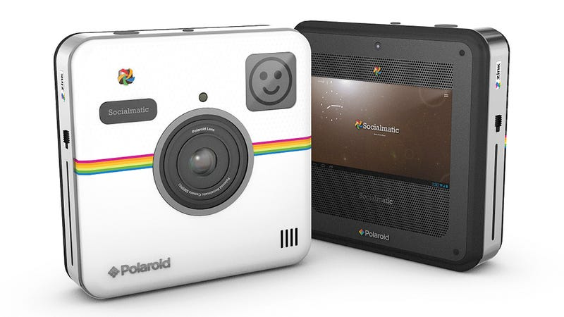 Polaroid's Socialmatic Camera Is All About Sharing Your Shots