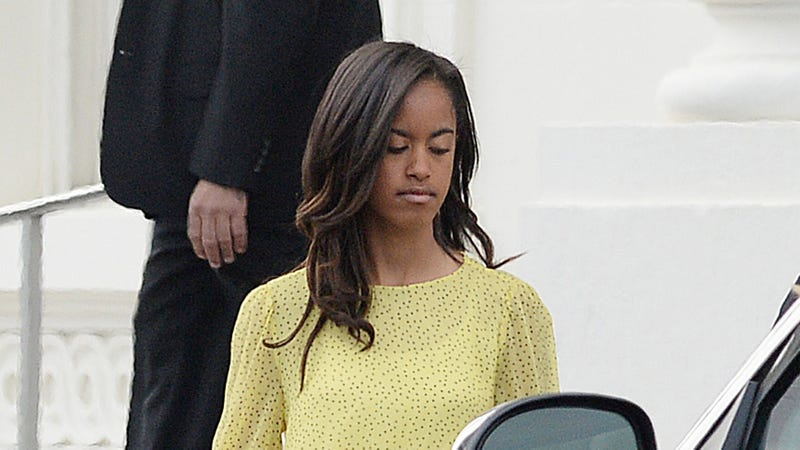 Malia Obama Turns 16 Years Old This Summer and Is Learning to Drive!