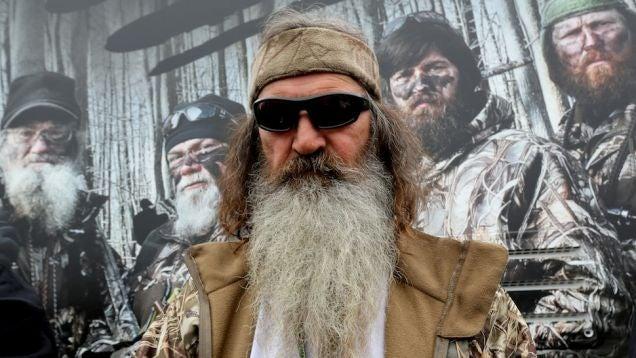 Anus-Obsessed Quack Phil Robertson on ISIS: 'Convert Them or Kill Them'