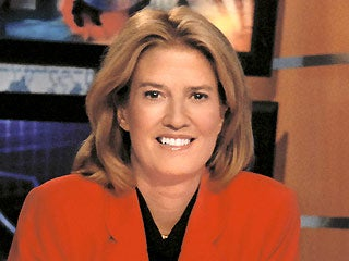 Greta Van Susteren Talking Out the Side of Her Neck