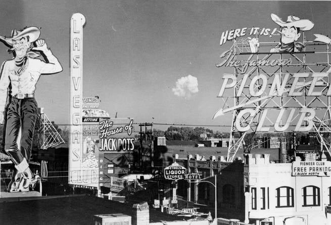 Photos of Mushroom Clouds as Seen from 1950s Las Vegas