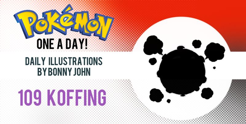 Koffing! Pokemon One a Day!