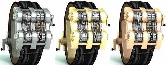 The Cabestan Winch Tourbillion Watch is Chain Driven, Costs $400K