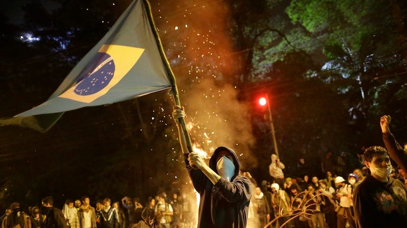 Brazil's Protestors Should Be Angry At FIFA, Too