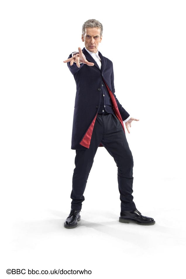 Peter Capaldi's brand-new Doctor Who outfit revealed!