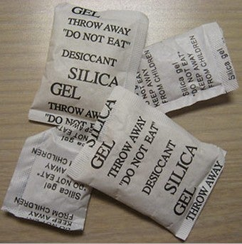 Save Silica Packets to Keep Tools Dry and Rust-Free