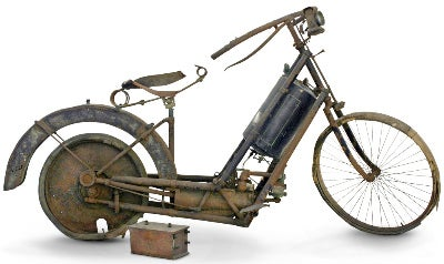 First-Ever Patented Motorcycle From 1894 Sells For $131k at Auction