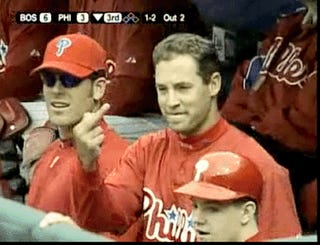 The Crack Of The Bat, The Middle Finger Of Pat Burrell