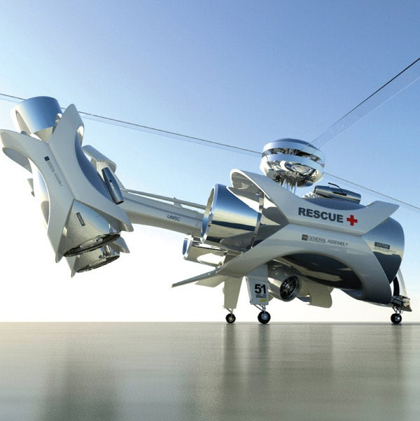 ARC Rescue Chopper Design Is Kind of Insane