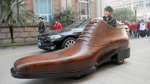 If the Electric Shoe-Car Fits...