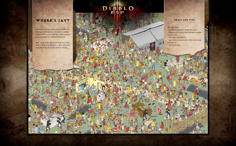 Can You Find The Director Of Diablo III?