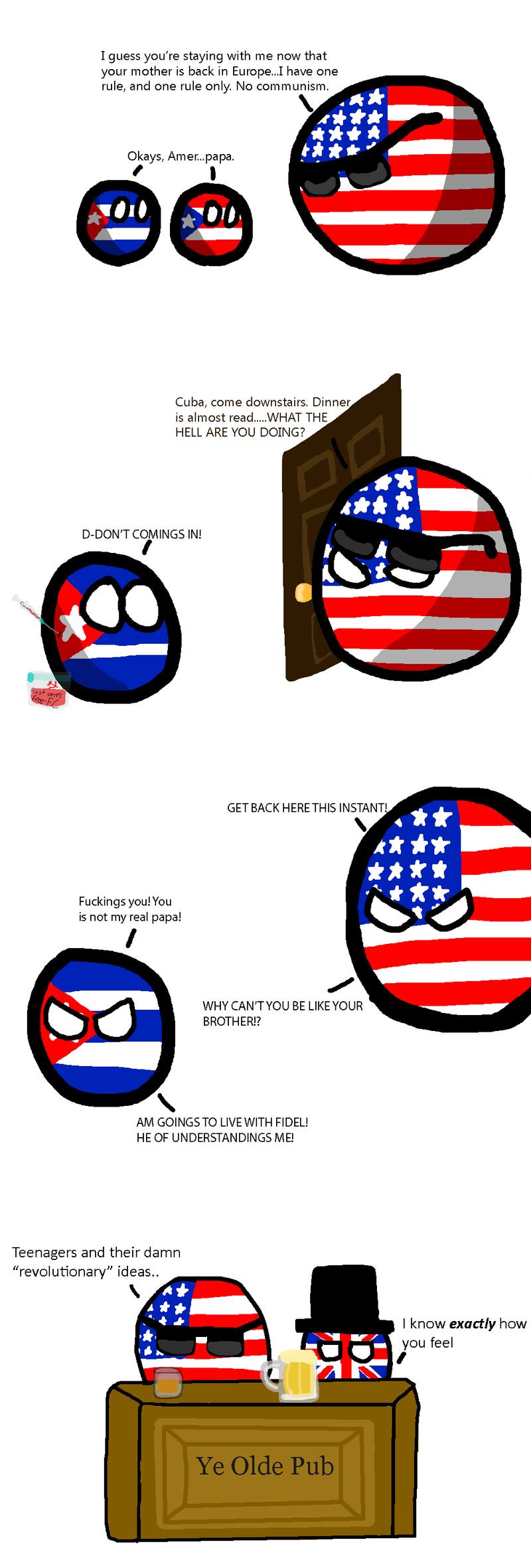 Daily Polandball: The Rebellious Phase