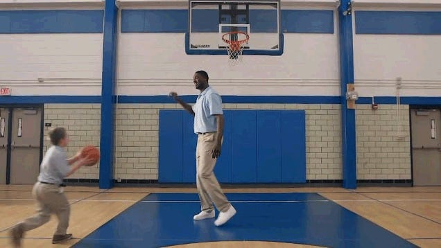 I Could Watch Roy Hibbert Blocking This Little Kid's Shot All Day Long