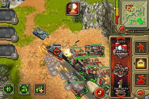 Images of Command & Conquer on the iPhone