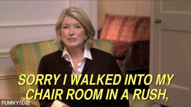 Martha Stewart's Secret Message In Commercial Decoded