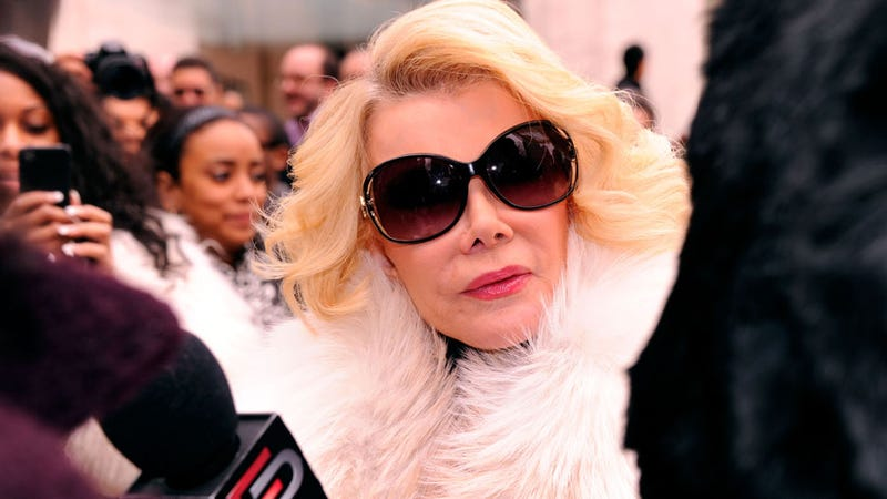 Joan Rivers Gets Thrown Out of Costco by Police