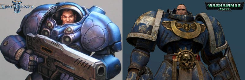 Before Starcraft, There Were Space Marines