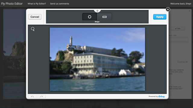 Fly Photo Editor Tweaks Your Facebook Photos Right in the Browser