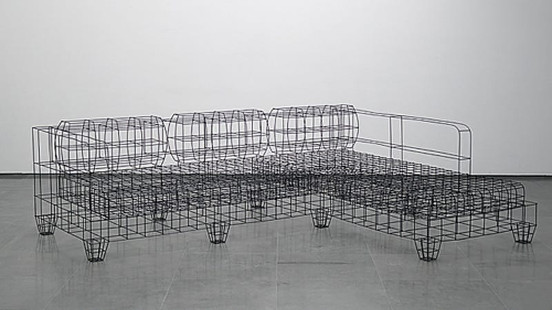 Wireframe Furniture Looks Great But Is Almost Certainly Uncomfortable