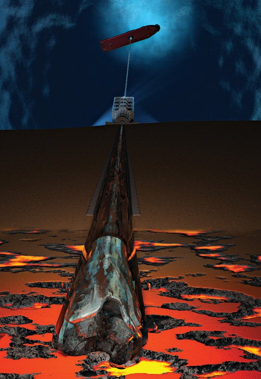 The World's Deepest Drill To Tickle Earth's Mantle