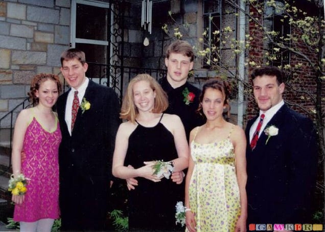 The person with the most embarrassing prom photo will win a 50 gift