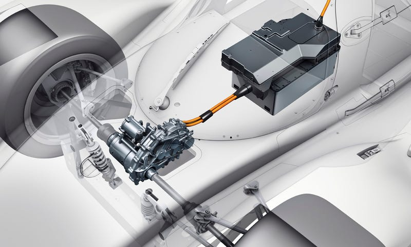 How Porsche's Stunningly Complex Hybrid Le Mans Race Car Works