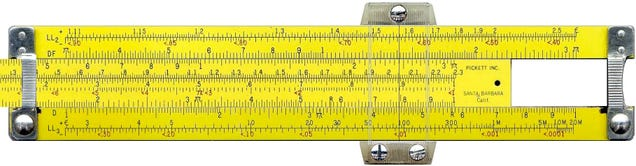 It's Easier To Tell Time Than do Math on This Slide Rule Watch