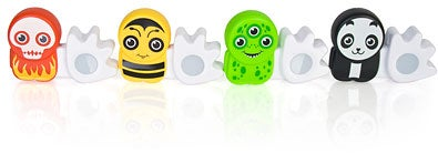 Poken USB Figure Exchanges Contacts With a High Five
