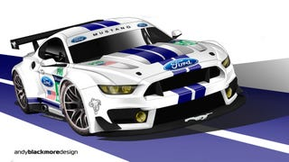 What if?  .....A Le Mans Spec '15 Mustang