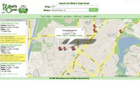Screenshots of first Googlephone app