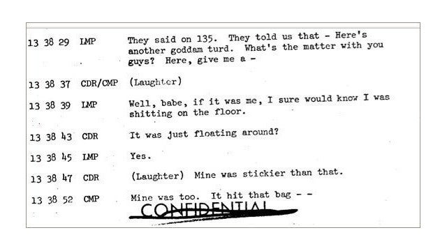 The Stories of Poop Hidden in NASA's Apollo 10 Mission Transcripts